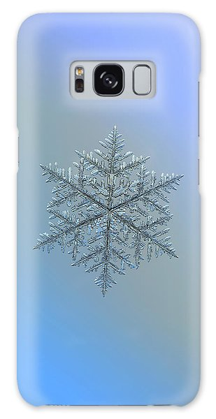 Snowflake Photo - Majestic Crystal Galaxy Case