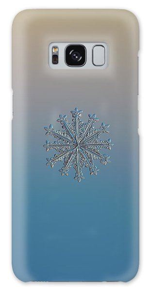 Snowflake Photo - Wheel Of Time Galaxy Case