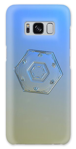Snowflake Photo - Cryogenia Galaxy Case