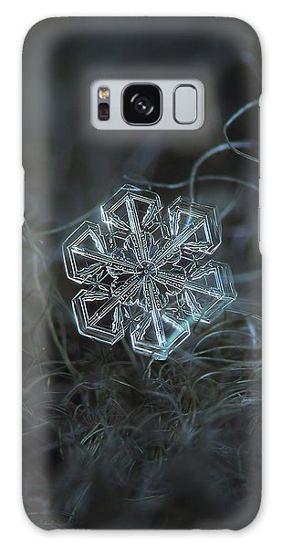 Snowflake Photo - Alcor Galaxy Case