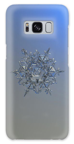 Snowflake Photo - Crystal Of Chaos And Order Galaxy Case