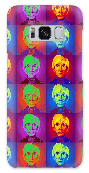 Andy Warhol On Andy Warhol Galaxy Case