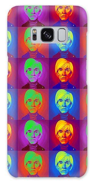 Andy Warhol On Andy Warhol Galaxy Case