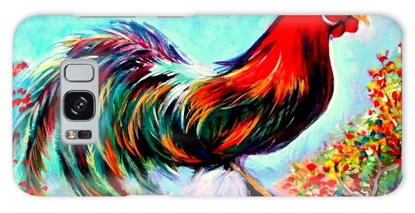 Rooster/gallito Galaxy Case by Yolanda Rodriguez
