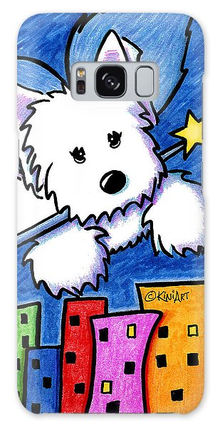 Fairy Princess Westie Galaxy Case