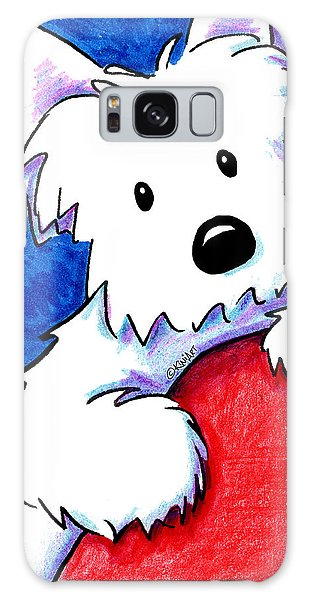 Wendell The Westie Galaxy Case