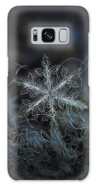 Leaves Of Ice, Panoramic Version Galaxy Case