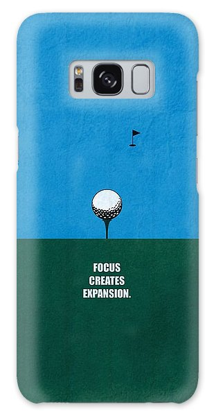 Office Galaxy Case - Focus Creates Expansion Corporate Start-up Quotes Poster by Lab No 4