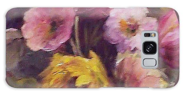 Abundance- Floral Painting Galaxy Case