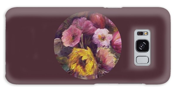 Abundance- Floral Painting Galaxy Case