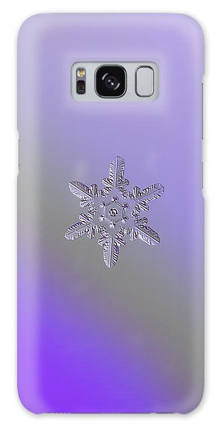 Snowflake Photo - Heart-powered Star Galaxy Case