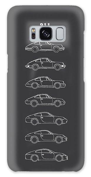 Sports Car Galaxy Case - 911 Evolution by Mark Rogan
