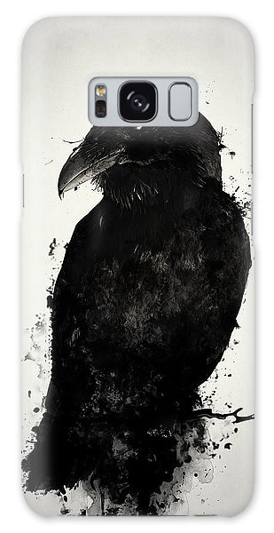 Galaxy Case - The Raven by Nicklas Gustafsson
