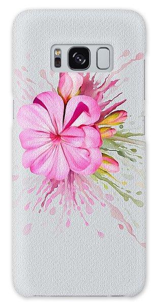 Pink Eruption Galaxy Case by Ivana Westin