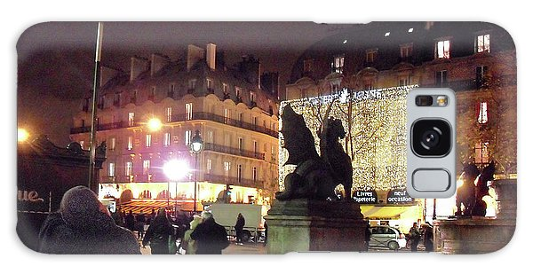 Place Saint-michel Galaxy Case by Felipe Adan Lerma