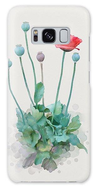 Poppy Galaxy Case by Ivana Westin