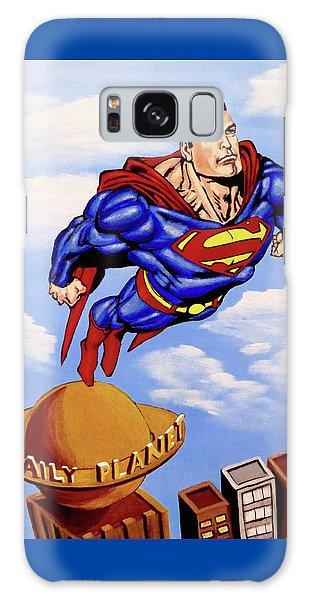 Superman Galaxy Case by Teresa Wing