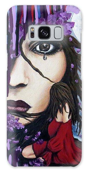Alone Galaxy Case by Teresa Wing