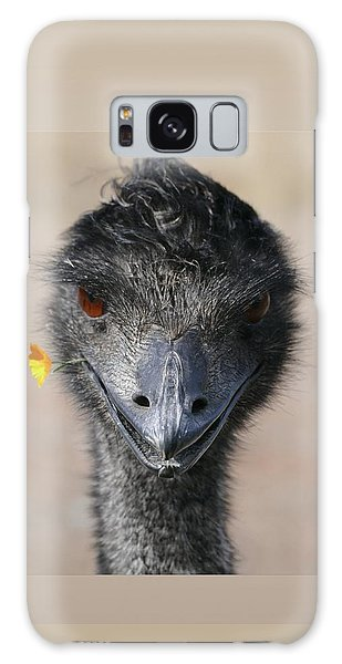 Galaxy Case featuring the photograph Happy Emu by Ivana Westin