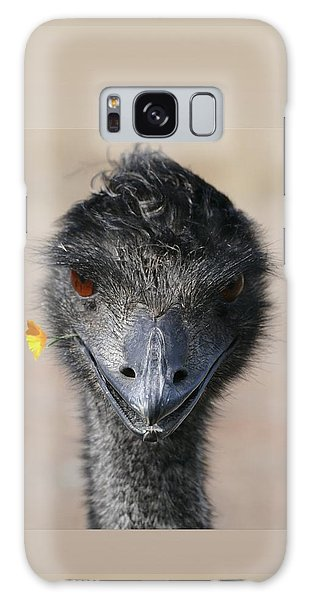 Happy Emu Galaxy Case by Ivana Westin