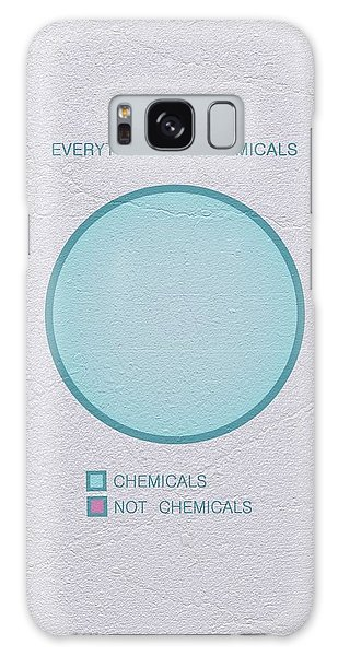Galaxy Case featuring the digital art Everything Is Chemicals by Ivana Westin