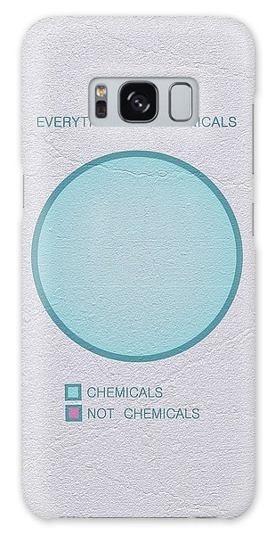 Everything Is Chemicals Galaxy Case by Ivana Westin