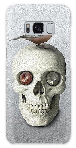 Skull And Bird Galaxy Case by Ivana Westin