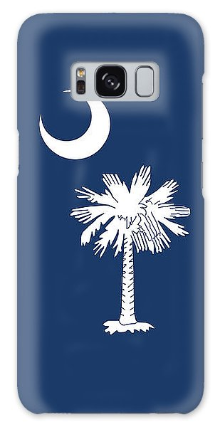 Flag Of South Carolina Authentic Version Galaxy Case