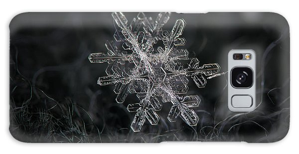 Snowflake Photo - January 18 2013 Grey Colors Galaxy Case