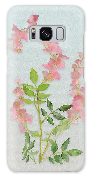 Pink Tiny Flowers Galaxy Case