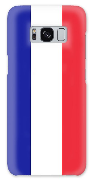 Flag Of France High Quality Authentic Image Galaxy Case