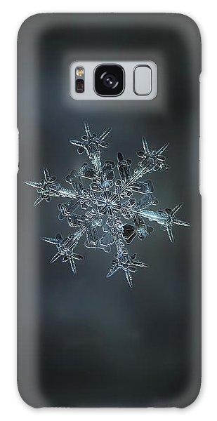 Snowflake Photo - Starlight II Galaxy Case