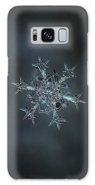 Snowflake Photo - Starlight II Galaxy Case