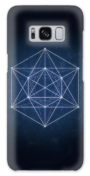 Fractal Galaxy Case - Sacred Geometry  Minimal Hipster Symbol Art by Philipp Rietz