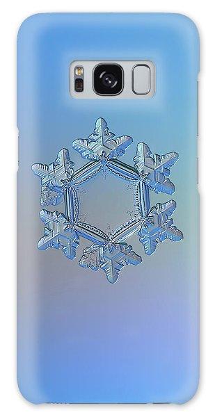 Snowflake Photo - Sunflower Galaxy Case