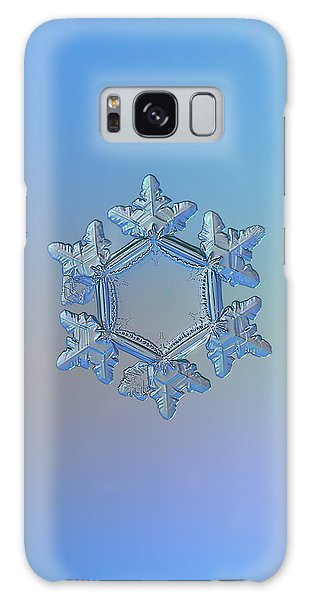 Snowflake Photo - Sunflower Galaxy Case