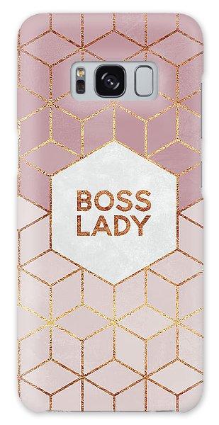 Girl Galaxy Case - Boss Lady by Elisabeth Fredriksson