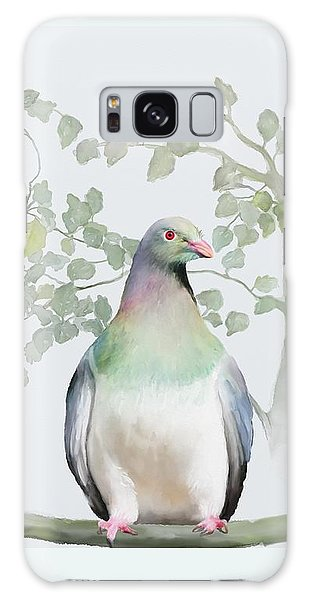 Wood Pigeon Galaxy Case by Ivana Westin
