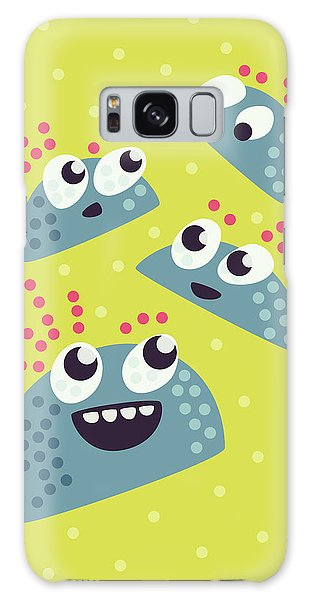 Kawaii Cute Candy Friends Galaxy Case