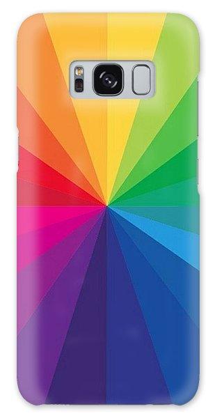 Color Wheel Galaxy Case