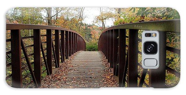 Thompson Park Bridge Stowe Vermont Galaxy Case