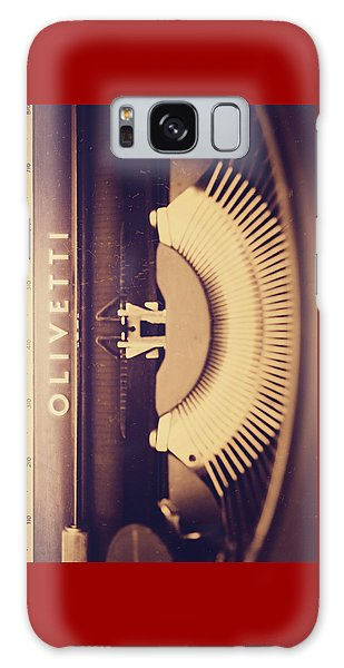 Olivetti Typewriter Galaxy Case