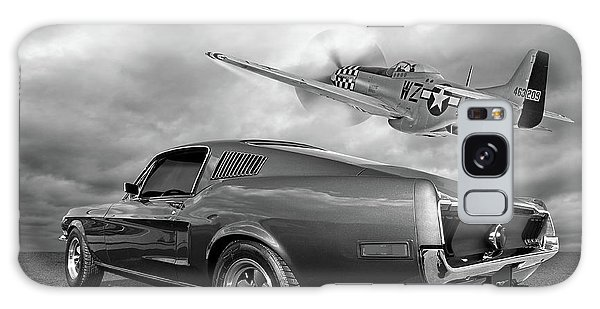 p51 With Bullitt Mustang Galaxy Case
