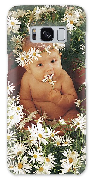 Daisy Galaxy Case - Daisies by Anne Geddes
