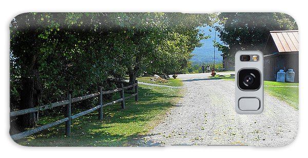 Trapp Family Lodge Rustic Road Galaxy Case
