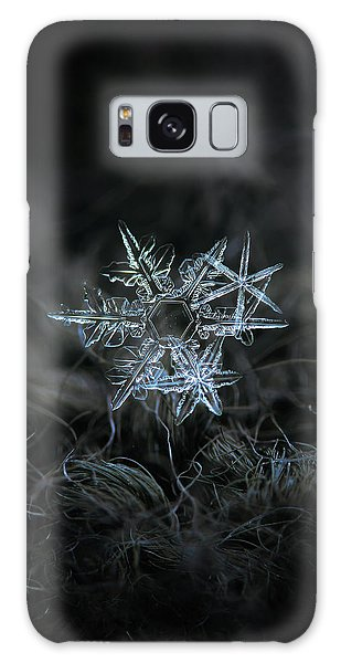 Galaxy Case featuring the photograph Snowflake Of 19 March 2013 by Alexey Kljatov