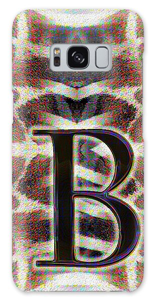 Monogram B Galaxy Case