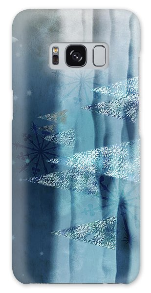 Winter Night Galaxy Case by AugenWerk Susann Serfezi