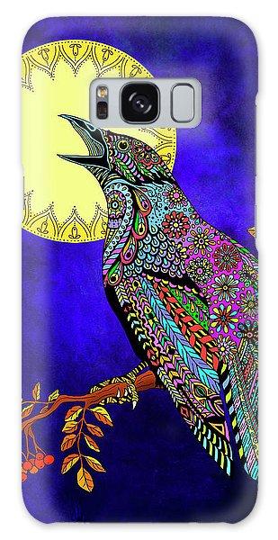Electric Crow Galaxy Case