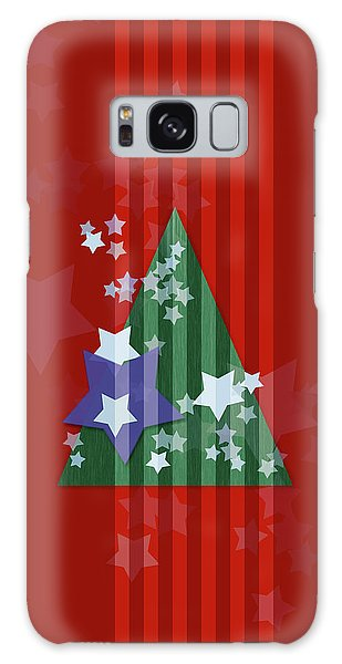 Stars And Stripes - Christmas Edition Galaxy Case